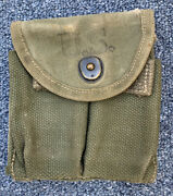 Original Wwii 1944 Dated Us Military M1 Carbine Ammo Magazine Pouch