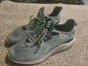 Adidas Alphabounce Em Utility Ivy Trace Green Grey Bb9042 Menandrsquos Shoes Size 11.5