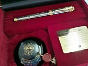 Limited Edition Pilot 2000th Anniversary Of Christand039s Birth Fountain Pen Japan