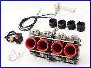 M2 Gpz900r Fcr Carburetor Set 37mm Washed Active High Throttle Thin Right Switch