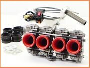 M2 Gpz900r Fcr Carburetor Set 35mm Washed Active Thin Right Switch Throttle