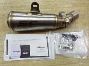 Outlet Sc Project Z900rs/cafe Stainless Steel Slip-on Silencer K29-43a