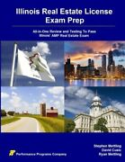 Illinois Real Estate License Exam Prep All-in-one Review And Testing To Pass…