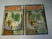 Ghosts 5 Cover Art, Original Approval Cover Proof And Painting, 1970's
