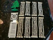 Marx Roy Rogers Rodeo Ranch Play Set Series 2000 Parts 3996 Fences Tree Gates