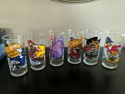 Beautiful Vintage 1977 Mcdonalds Collector Series Glasses Complete Set Of 6