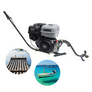 4stroke 15hp Outboard Motor Fishing Boat Gas Engine Single-cylinder 20km/h 420cc