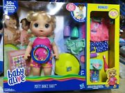 Baby Alive Potty Dance Exclusive Blond Hair Bonus Value Pack Talking Doll