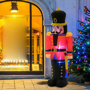 6and039 Tall Inflatable Christmas Nutcracker Soldier Outdoor Holiday Yard Decoration