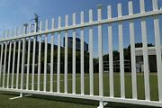 Zippity Outdoor Products Zp19026 Lightweight Portable Vinyl Picket Fence Kit W/m