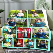 Custom Photo Blanket Personalized Picture Fleece Throw Blanket Up Load Photo