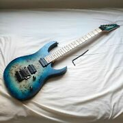 Ibanez Rg652mpb Ghost Fleet Blue Made In China Electric Guitar Used