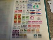 United States Plate Blocks Singles Gemini First Day Cover 630 Stamps Stock Album