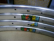 4 Used Vintage 60s/70and039s Scheeren Weltmeister 700c Tubular Rims 202428 Hole