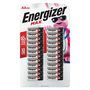 Energizer Max Aa Batteries 48 Pack Double A Alkaline Batteries