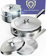 Dalstrong 6-piece Premium Cookware Set - The Avalon Series - 5-ply Copper Core -