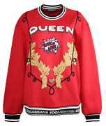 Dolce And Gabbana Queen Patch Sweater