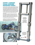 Storz/ceriani 55mm Inverted Front Forks Fits Fxr Dyna And Softail Brand New