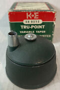 Kande Keuffel And Esser Tru-point 58 0515 Variable Taper Lead Pointer
