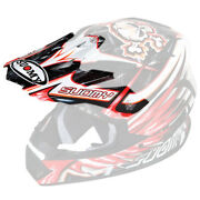 Suomy Rumble Visor Red Eclipse