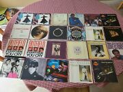 Lot Of 70+ Empty Picture Sleeves Mostly 1980's Records Not Included