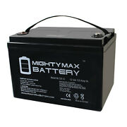 Mighty Max 12v 125ah Sla Battery Replaces Off Grid Tiny Home House Rv Backup