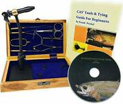 Colorado Anglers Z797 Wooden Fly Tying Standard Tool Kit Fly Fishing Vise Bob...