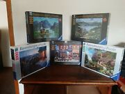 Ravensburger Puzzles Lot Of 5 Brand New