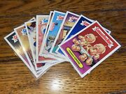 2007 Garbage Pail Kids All New Series 6 Ans6 Magnet Set 9 Magnets Nm