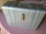 Vintage Union Steel Chest Corp File Chest No. 1012 Made In Usa With Key