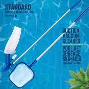 Pool Vacuum Cleaner Pool Vacuum For Above Ground Pool Maintenance Kit With Pole