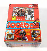 1981 Topps Football In 1979 Wrappers And Display Box 36 Packs Bbce Wrapped