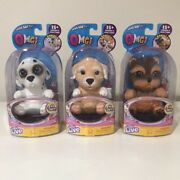 Brand New Sealed Omg Little Live Pets Dog Lot - Dalmatian, Poodle And Yorkie.