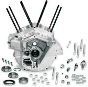 S S Cycle Natural Evolution Style Big 3.625 Bore Super Stock Engine Case 84-91