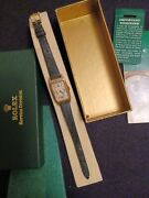 Rolex Mens Watch Vintage Art Deco Extremely Rare Made For Store And Service Box
