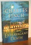 Charles Finch An Extravagant Death Fine Hb Charles Lenox Mystery 14 Hardcover