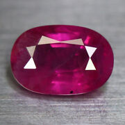 Unheated 2.07ct.brma Natural Ruby Red-pink Oval Shape Gemstone Rare