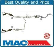 Exhaust System With 4 Converters Middle Pipe Muffler Fits 07-09 Fj Cruiser 4.0l