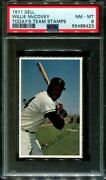 1971 Dell Today's Team Stamps Willie Mccovey Hof Pop 7 Psa 8 B3126779-423