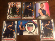 2021 Topps Usa Olympics Robbie Hummel Insignia Relic /99 + Bronze Parallel + Lot