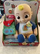 Cocomelon Target Exclusive Jj Musical Plush Back To School Doll - Ships Same Day