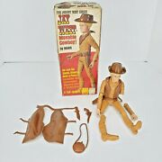 Johnny West Marx Jay West Moveable Figure 1062-b Accessories And Box Please Read