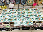 22 Florida License Plates Sunshine State Consecutive Numbers As Pictures Expired