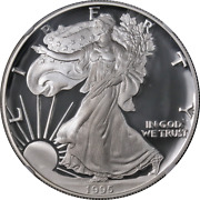 1995-p Proof Silver American Eagle 1 Ngc Pf70 Ultra Cameo Stock