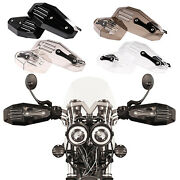 2pcs Motorcycle Universal Handguards Compatible With Most Atv Mountain Bikes