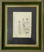 Frida Kahlo And Abortion A Work Of Art. Top Rarity Collectible