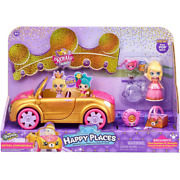 Shopkins Happy Places Royal Trends - Royal Convertible With Doll And Accessories