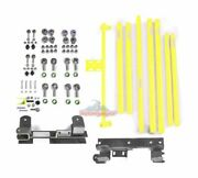 Steinjager Long Arm Suspension Upgrade Kit-neon Yellow, For Jeep Tj J0046855