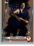 2021 Topps Us Olympics And Paralympics 16 Robbie Hummel Bronze 3-on-3 Basketball