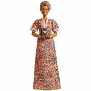 Barbie Signature Inspiring Women Maya Angelou Collector Doll In Hand New